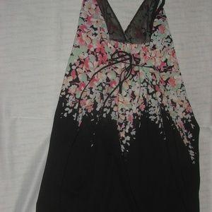 Oscar de la Renta Sleepwear Intimates & Sleepwear - Oscar de la Renta Pink Label Sheer Sleepwear